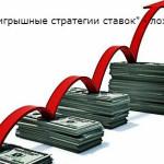 «Беспроигрышные стратегии ставок» — лохотрон!
