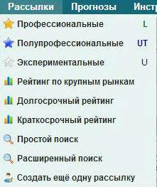 Категории рассылок Betonsuccess.ru