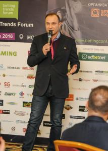 Константин Генич на betting trends forum 2016